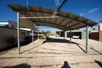 Curved Roof Carports Sydney Central Coast Newcastle