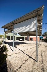 Curved Roof Carports 3